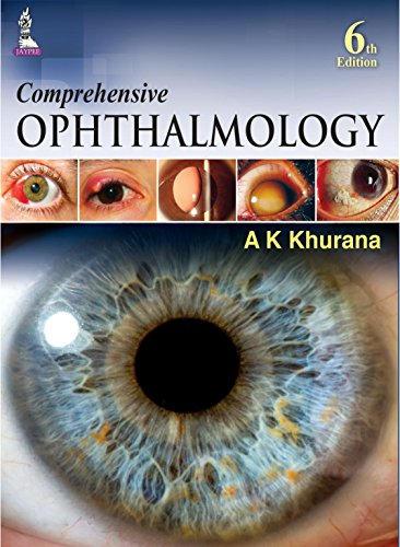 Comprehensive Ophthalmology (Review of Ophthalmology) 6th Edition  2015