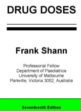 Drug Doses Frank Shann 17th Edition 2017