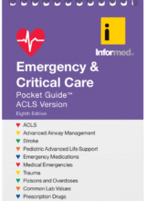 Emergency & Critical Care Pocket Guide ACLS Version 8th Edition 2016