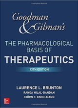 Goodman and Gilman's The Pharmacological Basis of Therapeutics,13th Edition 2017