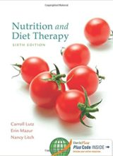 Nutrition and Diet Therapy 6th Edition 2015