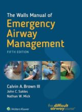 The Walls Manual of Emergency Airway Management Fifth Edition 2017