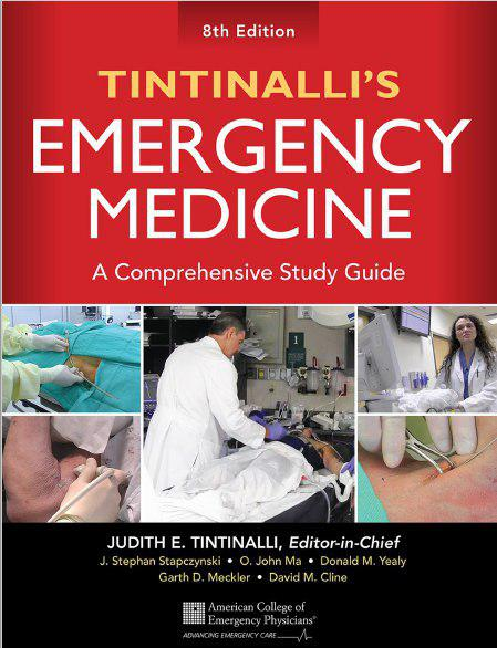 Tintinalli's Emergency Medicine A Comprehensive Study Guide, 8th Edition 2015