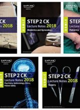 USMLE Step 2 CK Lecture Notes 2018 5-Book Set (USMLE Prep) 1st Edition