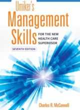 Umiker's Management Skills for the New Health Care Supervisor 7th Edition 2017
