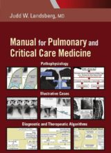 Manual for Pulmonary and Critical Care Medicine 1st Edition 2018