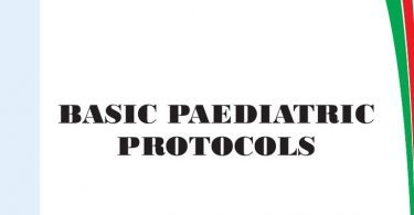 Kenya BASIC PEDIATRIC PROTOCOLS for ages up to 5 years 4th Edition 2016