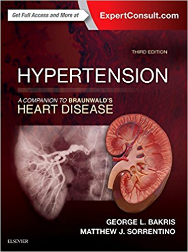 Hypertension A Companion to Braunwald's Heart Disease 3rd Edition 2018