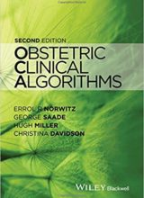 Obstetric Clinical Algorithms 2nd Edition 2017