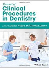 Manual of Clinical Procedures in Dentistry 1st Edition 2018