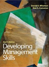 Developing Management Skills 8th Edition 2011