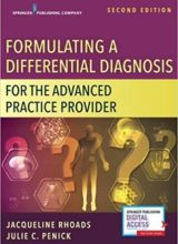 Formulating a Differential Diagnosis for the Advanced Practice Provider 2nd Edition 2018