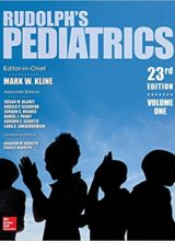 Rudolph's Pediatrics 23rd Edition 2018
