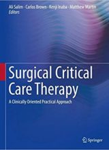 Surgical Critical Care Therapy: A Clinically Oriented Practical Approach 1st Edition 2018