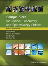 Sample Sizes for Clinical, Laboratory and Epidemiology Studies 4th Edition, Kindle Edition 2018