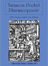 Used by prescribers around the world, the Tarascon Pharmacopoeia