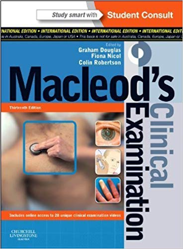 MacLeod's Clinical Examination 13th edition by NA (2013)
