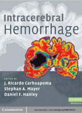 Intracerebral Hemorrhage 1st Edition 2009