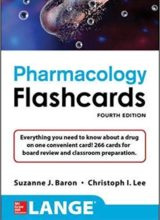 Lange Pharmacology Flashcards 4th Edition 2018