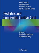 Pediatric and Congenital Cardiac Care: Volume 2: Quality Improvement and Patient Safety 2015th Edition