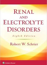 Renal and Electrolyte Disorders 8th Edition 2018