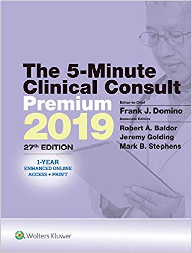 The 5-Minute Clinical Consult 27th Edition 2019