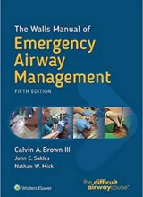 The Walls Manual of Emergency Airway Management 5th Edition,2018