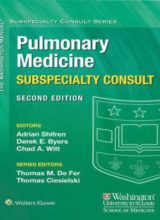 The Washington Manual Pulmonary Medicine Subspecialty Consult (The Washington Manual Subspecialty Consult Series) 2nd Edition