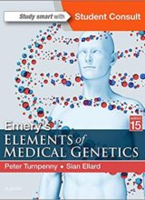 Emery's Elements of Medical Genetics 15th Edition 2018