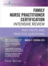 Family Nurse Practitioner Certification Intensive Review 3rd Edition 2018
