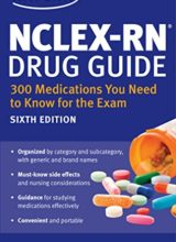 NCLEX-RN Drug Guide: 300 Medications You Need to Know for the Exam 2015