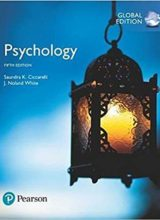 Psychology Fifth edition 2017