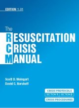 The Resuscitation Crisis Manual 1st edition 2018