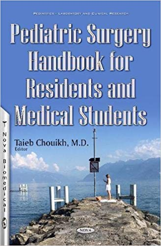 Pediatric Surgery Handbook for Residents and Medical Students 1st Edition 2017