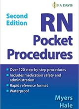 RN Pocket Procedures 2nd Edition 2019