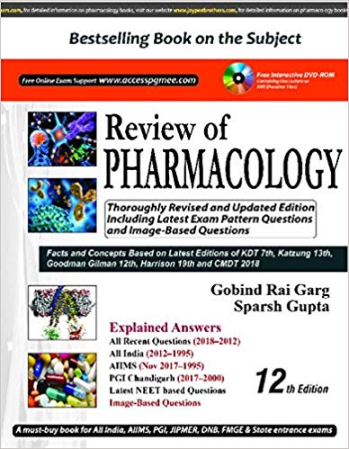 Review of PHARMACOLOGY 12th Edition 2018