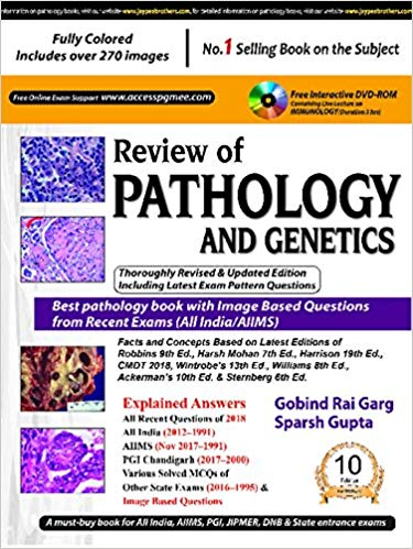 Review of Pathology and Genetics (PGMEE) 10th Edition 2018