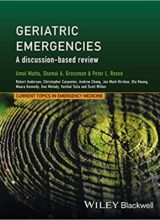 Geriatric Emergencies A Discussion-based Review 1st Edition