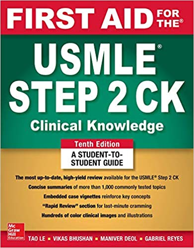 First USMLE Step 10th Edition 51ANDnCxvOL._SX389_BO1204203200_.jpg
