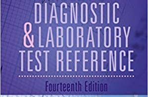 Mosby's Diagnostic and Laboratory Test Reference 14th Edition 2019