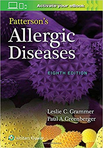 Patterson's Allergic Diseases Edition 2019 Pattersons-Allergic-Diseases-8th-Edition-2019.jpg