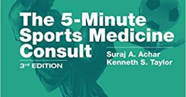 5-Minute Sports Medicine Consult 3rd Edition