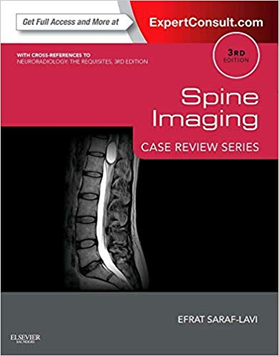 Spine Imaging Case Review Series Expert Consult Online and Print 3rd edition