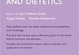 Oxford Handbook of Nutrition and Dietetics 3rd Edition