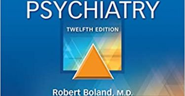 Kaplan & Sadock's Synopsis of Psychiatry 12th Edition