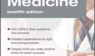 Medicine PreTest Self-Assessment & Review 12th edition