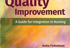 Quality Improvement A Guide for Integration in Nursing 2nd Edition