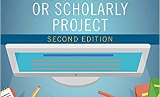 Nurse's Step-By-Step Guide to Writing a Dissertation or Scholarly Project 2nd Edition