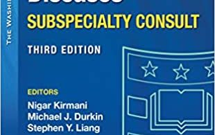 Washington Manual Infectious Disease Subspecialty Consult 3rd Edition